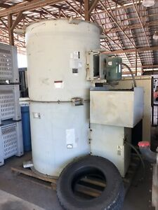 Industrial Greenheck 48 Inch Tube Axial Centrifugal Fan Blower 7 5 Hp 3 Phase