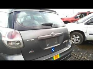 Trunk Hatch Tailgate Heated With Wiper Without Spoiler Fits 03 08 Matrix