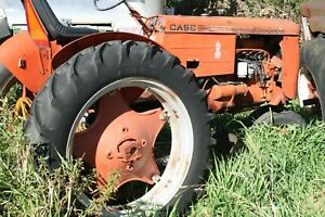 Case Vac Was A Running Tractor But Needs Tlc With Belly Mower