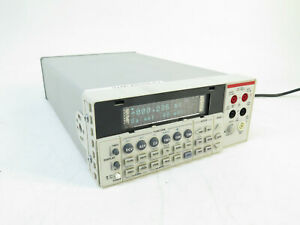 Keithley 2100 6 5 Digit Multimeter No Errors Passes All Self Tests