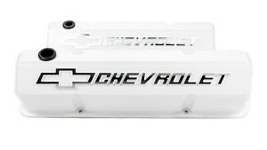 Proform 141 935 Aluminum Tall Valve Covers Fits Small Block Chevy Engines