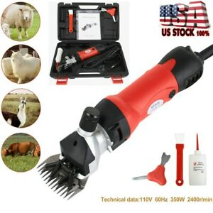 Sheep Goat Shears Clippers Electric Animal Shave Grooming Farm Supplies New Us