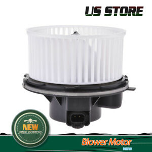 Heater A C Ac Blower Motor W Fan Cage For 03 10 Chevrolet Gmc 03 09 Hummer H2