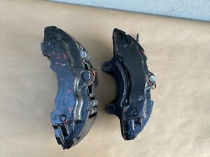 04 10 Porsche Cayenne Audi Q7 Oem Brembo Front Brake Calipers 18z Oem Set Of 2
