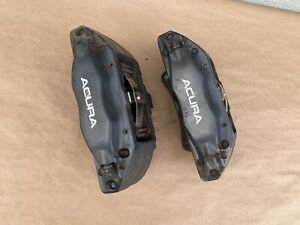 2007 2008 Acura Tl Type S Oem Front Brembo Brake Calipers Set Of 2