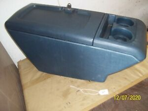 88 94 Chevy Tahoe Gmc Truck Suburban Center Console Yukon With Key Blue