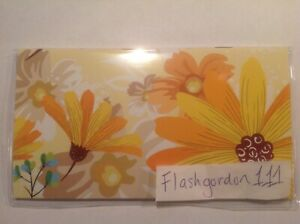 1 2021 2022 Yellow Floral Two Year Planner Pocket Purse Calendar 2 Year Datebook