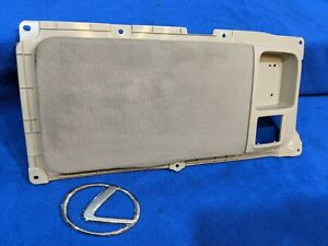 Lexus Lx470 Rear Subwoofer Grill Cover Panel Beige Tan Ivory