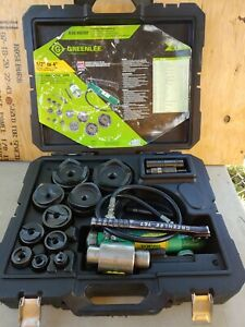 Greenlee 7310sb Knockout Punch Set 1 2 To 4 complete