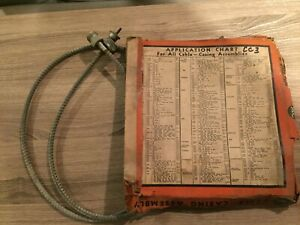 Speedometer Cable And Housing Nos Desoto Dodge Ford Lincoln Zephyr 1934 1935 193