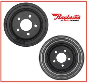 2 Brake Drums Raybestos Rear 5 Lug Left Right 19171646 For Ford Mazda