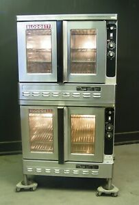Blodgett Dfg 100 Nat Gas Commercial Convection Oven Dual Flow Double Deck