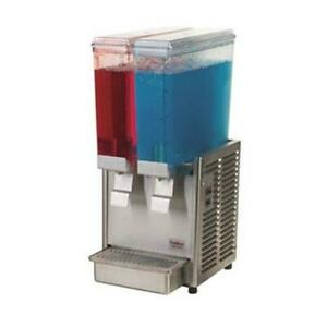 Crathco E29 3 Mini Twin Refrigerated Beverage Dispenser