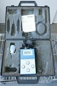 Digital Ph orp Meter H5502 1 Cosrad Power Cable Carrying Briefcase Case