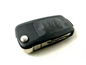 Volkswagen Jetta Start Ignition Flip Key Fob Remote Control Entry Entrance Unit