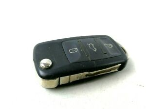 Volkswagen Passat Start Ignition Flip Key Fob Keyless Entry Entrance Transmitter