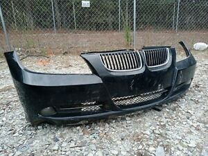 Front Bumper Cover For 2006 Bmw 325i 07 08 328i With Fog Lamp Grille