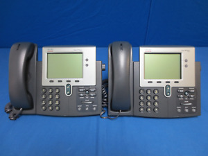 lot Of 4 Cisco 7941 And 7942 Business Office Telephones
