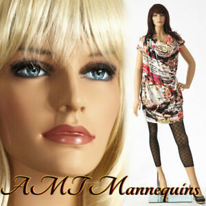 Female Mannequin stand hand Made Painted Skin Full Body Realistic Manikin Ivy