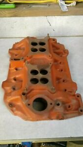 Poly 318 Intake Manifold Mopar Dual Quad Dodge Plymouth 1957 Wide Block