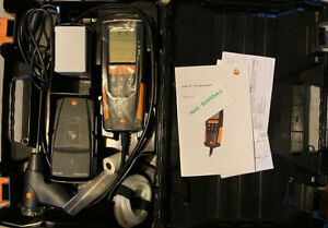 Testo 0563 3110 310 Combustion Analyzer Kit With Printer