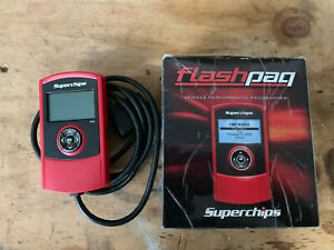 Superchips Flashpaq Performance Tuner Module Fit Ford Diesel And Gas Engine 1842