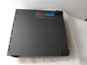 Lightwave Wac 1x Fiber Enclosure Black 6 5 x1 5 x7 6 To 24 fiber Panels