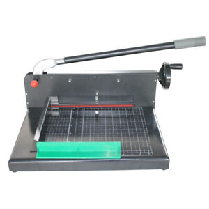 12 A4 Guillotine Paper Cutter Stack Paper Trimmer Scrap Booking Page Metal Base
