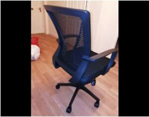 Blue Desk Chair Executive Computer Office Chair used