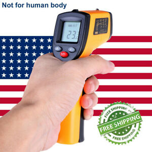 Digital Thermometer Infrared Handheld Temperature Gun Non contact Ir Laser Us