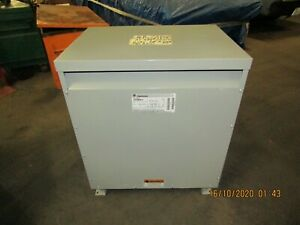 General Electric 75kva 480v 3 Phase Transformer 9t23b3874