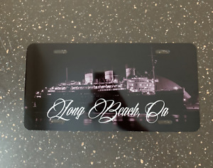 Long Beach Queen Mary Lbc License Plate