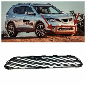 For 2014 2016 Nissan Rogue Front Bumper Lower Grille New Factory Replacement