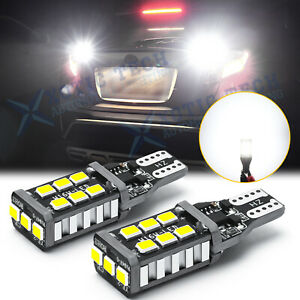 Led 921 Strobe Blinking Flashing Back Up Reverse Light Bulb Safety Warning White