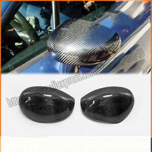 Auto Parts For Audi Tt 8n Real Carbon Fibre Mirror Cover 2pcs1998 2006