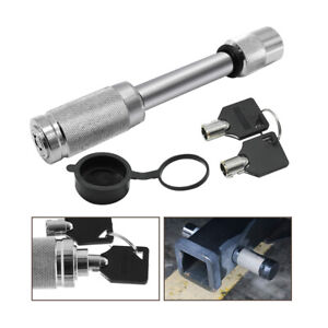 Trailer Hitch Lock For Class Iii Iv V Hitches 5 8 Stainless Steel Hitch Pin Us