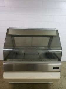Henny Penny Food Warmer Curved Glass Merchandiser Dp 3 Tested 120 208v