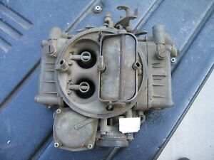 Holley Carburetor 600 Cfm Vacuum Secondary List 6949 1 Ford 75 76 Truck 360 390