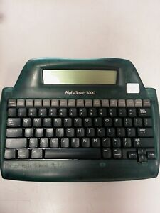 Alphasmart 3000 Portable Laptop Keyboard Word Processor Usb Cable Not Included