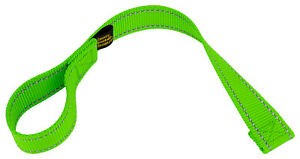 Country Brook Design Hot Green Winch Hook Pull Strap With Reflective Nylon