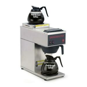 Grindmaster Cpo 2p 15a Pourover Coffee Brewer W 2 Warmers