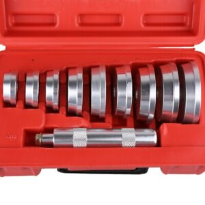 Bearing Press Bushing Driver Set 10pcs Aluminium Professional Wheel Handle
