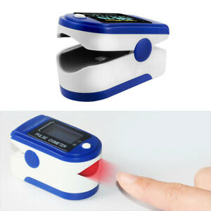Professional Finger Pulse Oximeter Blood Oxygen Saturation Monitor Heart Rate P2