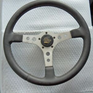 Used Grant Classic Gt 15 Alloy Black Wrapped Steering Wheel