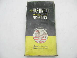 Hastings Sr4015 std Piston Rings Set Gm Chrysler 1959 69 400 401 430 Engs