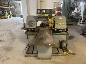 Doall Horizontal Band Saw C 70 Manual Automatic