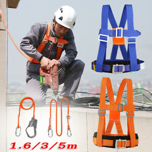 Fall Protection Safety Harness Belt Rope For Fire Rescue Construction Climbing