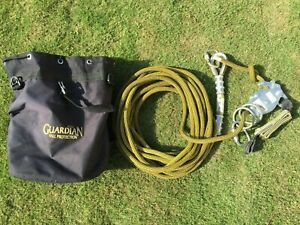 04639 Guardian Fall Protection 60 Kermantle Horizontal Lifeline System