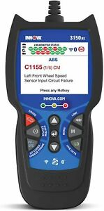 New Innova 3150rs Obd2 Scanner Car Code Reader With Abs Srs Live Data Expedited