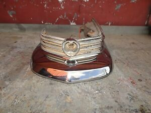 1963 Cadillac Driver Side Front Bumper End And Side Marker Light Assembly